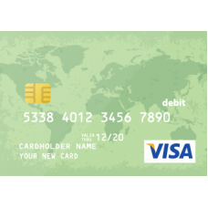 Virtual Visa Card $25